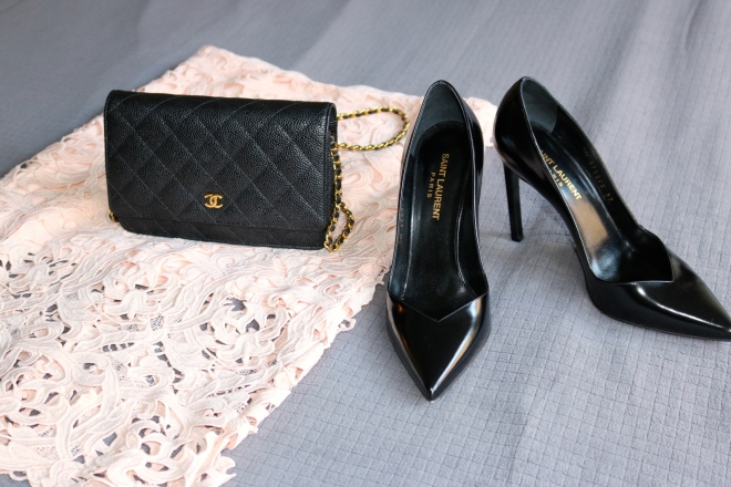 Chanel and Saint Laurent