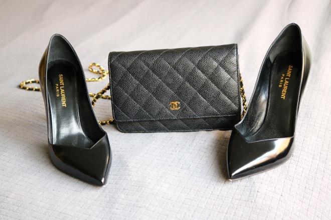 Saint Laurent and Chanel