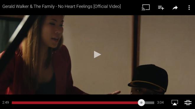Kasey Ma in Gerald Walker's music video