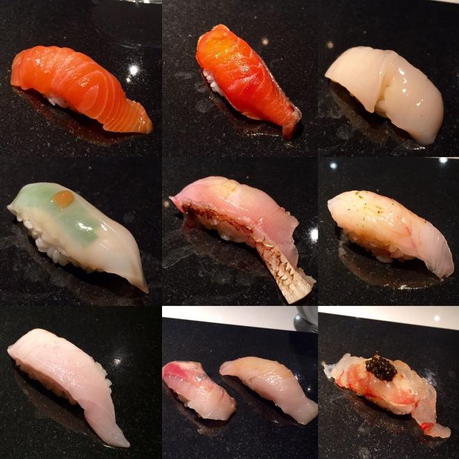 Sushi Nakazawa Omakase 1st half