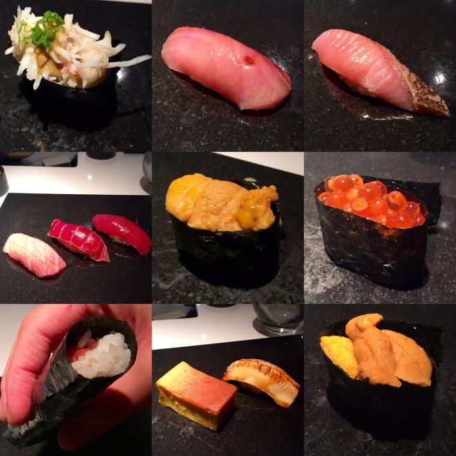 Sushi Nakazawa Omakase 2nd half